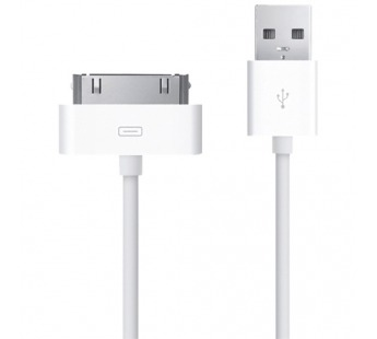 Кабель USB - Apple 30-pin Apple iPhone 4 (100 см) (white)