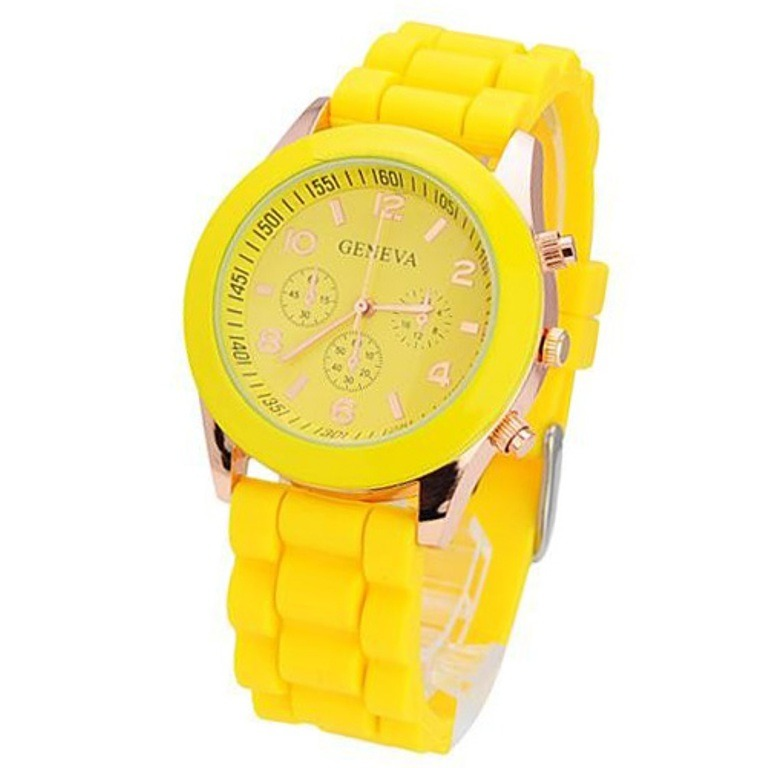 Купить часы Тик-Так 438 желтые - цена в Москве