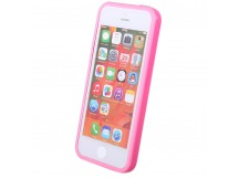 Чехол-бампер Activ MELIA для Apple iPhone 5 (pink)