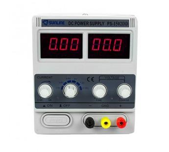 Источник питания YAXUN PS-1502DD (15V, 2A, защита по току)#177290