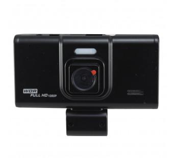 Автомобильный видеорегистратор Mega T698 + камера (черный)