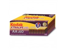 Элемент питания KODAK XTRALIFE LR6 60 colour box [KAA-60] (60/720/23040)