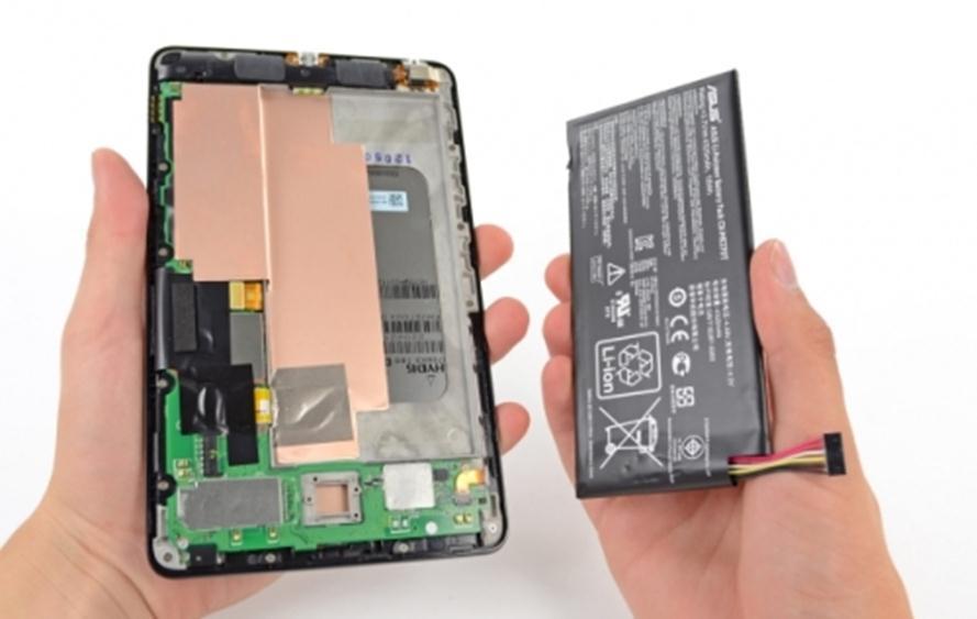 Замена аккумулятора на планшете своими руками